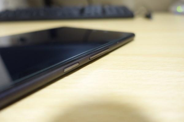 音量ボタン 電源ボタン ZenPad 3 8.0