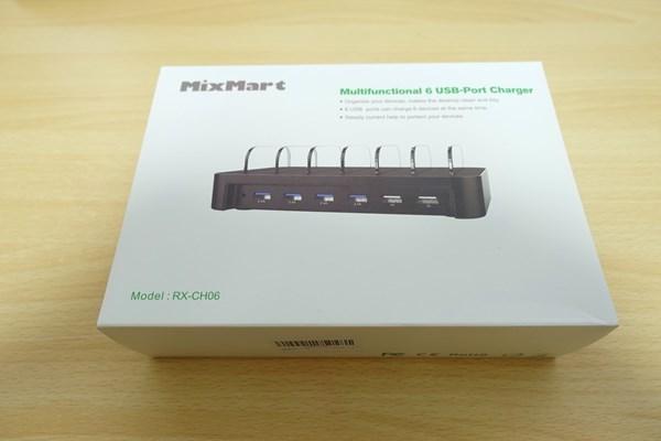MixMart 6ポートUSB充電器 外箱