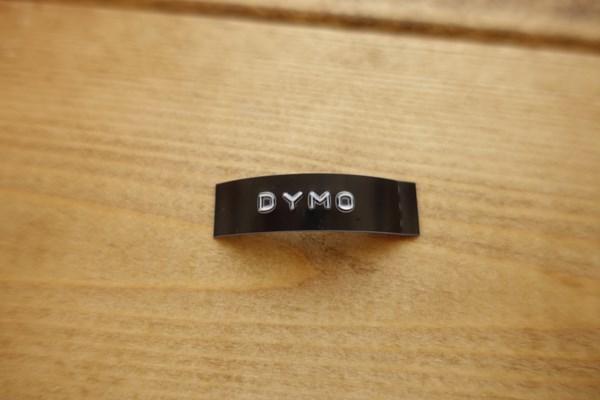 dymo ラベル 質感が最高! アナログっぽい!