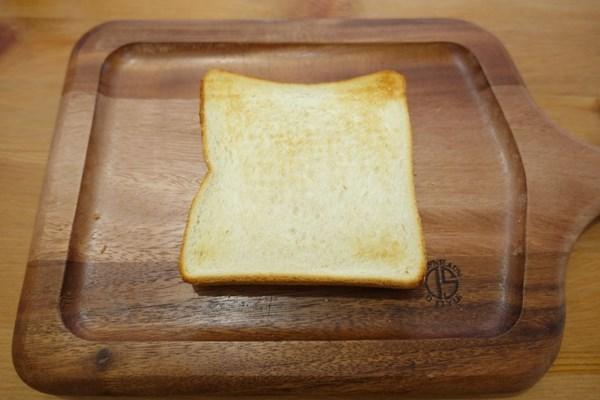 冷凍食パン アラジンで焼いてみた 裏面