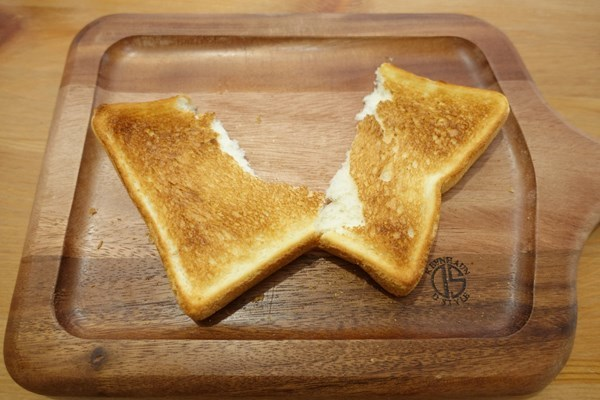 冷凍食パン アラジンで焼いてみた 食べ見るとふわふわ