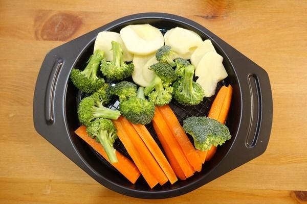 アラジン グリルパン 温野菜