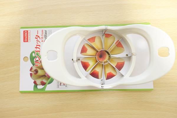 ダイソーリンゴカッター