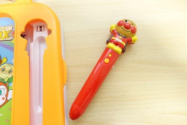 アンパンマン おしゃべりいっぱい! ことばずかん superdx 付属のペン