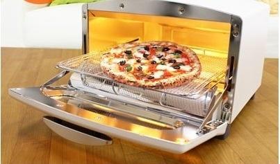 アラジン ピザ 25cm 焼ける