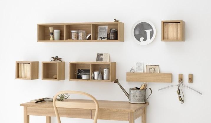 無印 壁に取り付けられる家具