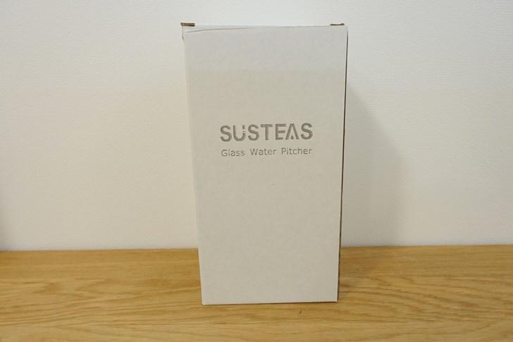 susteas 耐熱ガラスポット 外箱